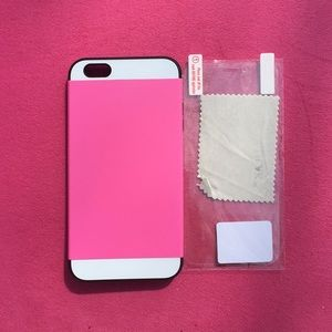 Accessories - I phone 6 Plus case come with screen protector NEW